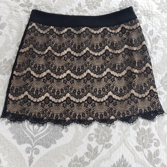 Ted Baker Dresses & Skirts - Ted Baker Black Lace Mini Skirt